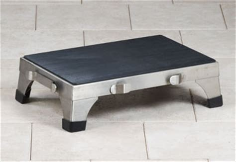 stainless steel stacking step stool by mid central clinton industries stainless steel stacking stools ss