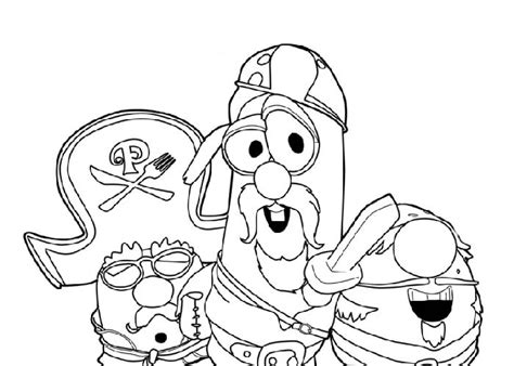 Veggietales Coloring Sheets Printable Coloring Pages Veggie Tales Coloring Pages