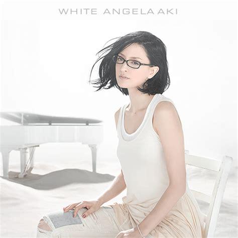 angela aki blue work japan angela aki white