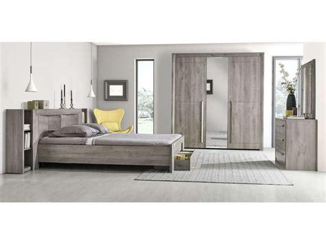 Commode 3 tiroirs EDEN coloris chêne gris   Vente de Commode   Conforama