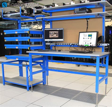 tech work bench lan station lan rack server rack esd formaspace