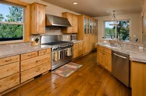 Best Kitchen Wall Colors With Oak Cabinets - 34 kitchens with dark wood floors pictures