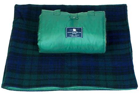tartan picnic rug waterproof black tartan waterproof picnic rug