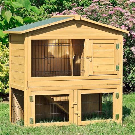 gabbie per conigli da interno gabbia per conigli nani in legno da esterno o interno