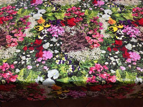 garden blumen wachstuch tischdecke c147110 garden blumen floral rund