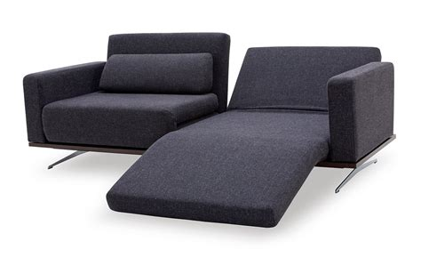recliner modern avenue modern fabric sofa w recliners