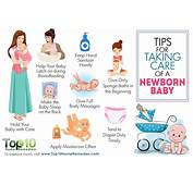 Top 10 Tips For Taking Care Of A Newborn Baby