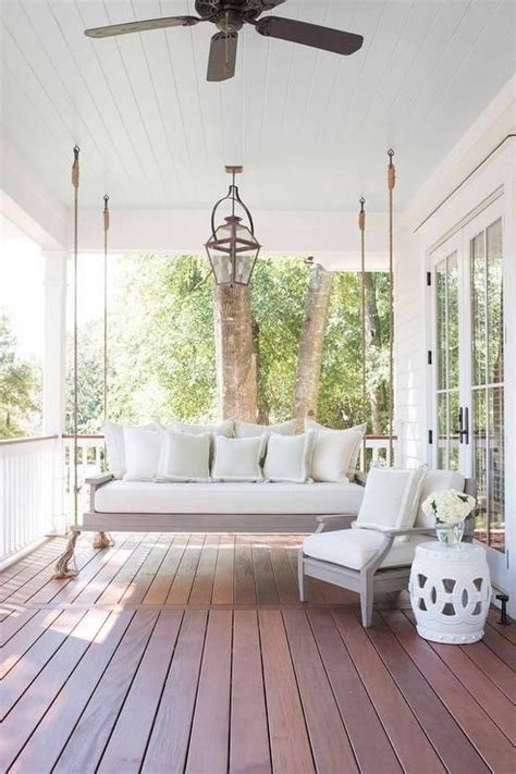 Porch Sofa Swing by 25 Best Porch Ceiling Ideas On