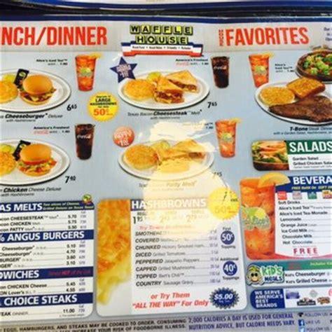 printable waffle house menu waffle house 27 photos 37 reviews diners 1700