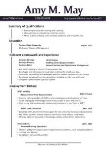 Resume Sample Hr by Functional Resume Format For Hr Manager Functional