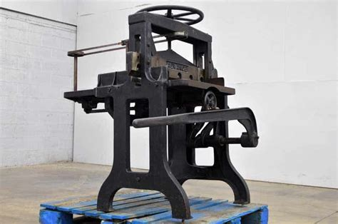 challenge guillotine paper cutter vintage challenge advance 26 1 2 inch paper guillotine
