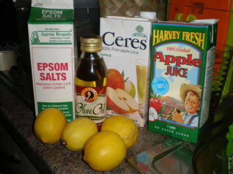 Apple Juice Detox Epsom Salt by Edwin S 2 Day Apple Juice Fast Liver Flush The Cure Manual