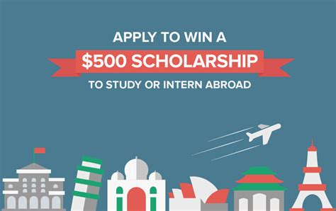 American Mba Internnship Abroad by Enter To Win A 500 Study Intern Abroad Scholarship Go