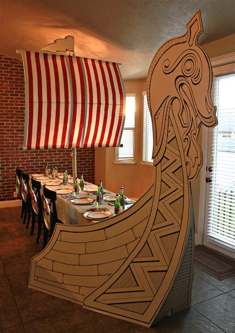 viking home decor viking and dragon themed birthday party via kara s party