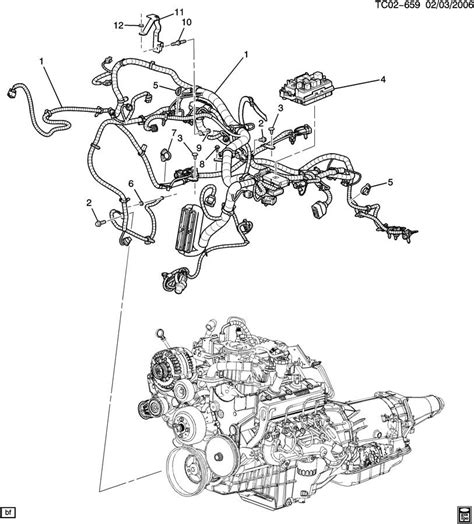 2002 chevy tahoe engine diagram cadillac escalade radio wiring harness get free image