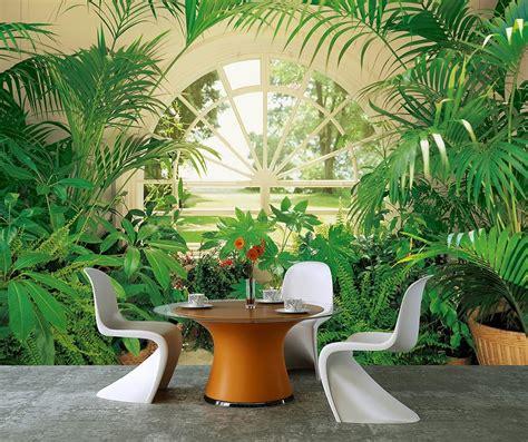 Fototapete Fenster Garten by Fototapete Wintergarten