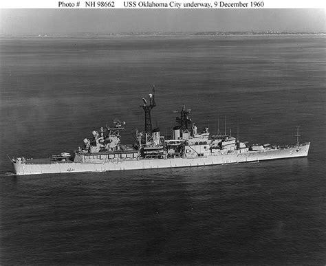 Original Bnwb Robey Navy usn ships uss oklahoma city clg 5 later cg 5 previously cl 91