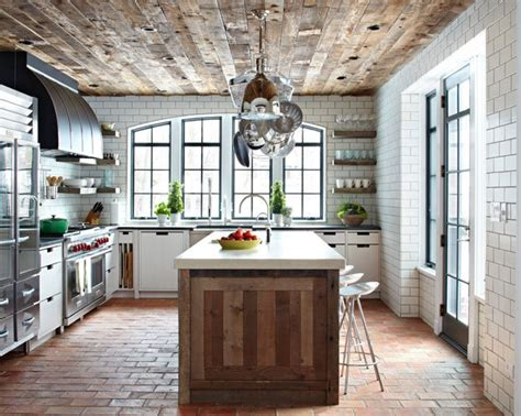Brick Ceiling Tiles by Distressed Wood Ceilings Kinda Reminds Me Of S