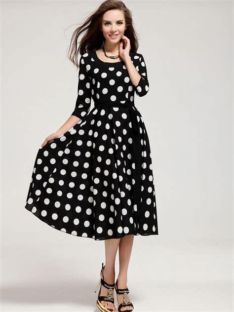 dress patterns by designers polka dot designer cocktail dress designs 2017 with sleeves