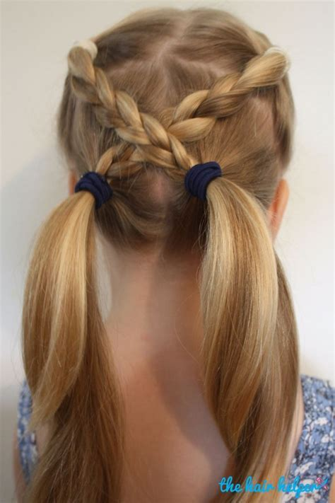 25 best ideas about easy kid hairstyles on