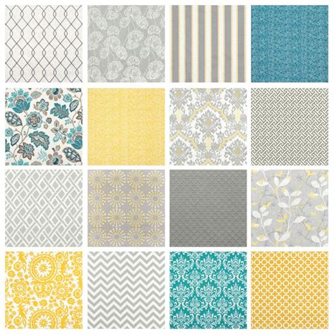 yellow and white with teal fabric for grey yellow rooms onlinefabricstore net blog