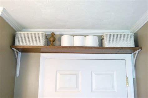shelf over bathroom door 17 ways to maximize the space in your bathroom pretty designs