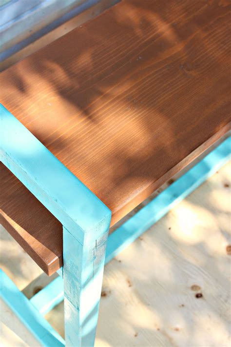 beginner diy wood bench project  outdoors dans le