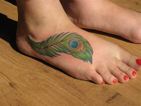 peacock feather tattoo upper arm feather tattoos women styler