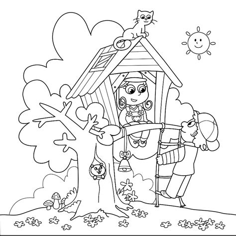 summer coloring page pdf summer coloring pages for older kids free large images