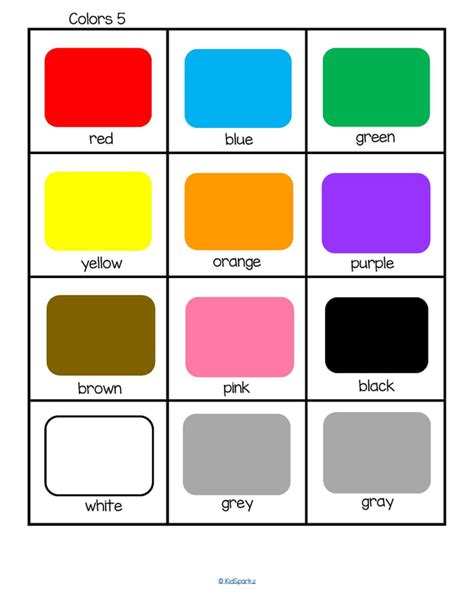 color schemes all 2 color schemes are based off these 15 colors flashcards kidsparkz