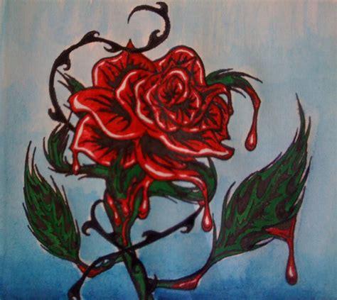 the bleeding rose by bleedngrose on deviantart