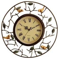 Chandeliers Atlanta Bird Wall Clock Eclectic Wall Clocks Atlanta By