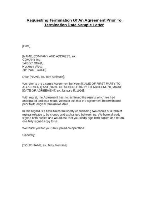 sample termination of services letter military bralicious co