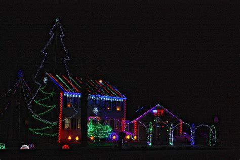 level christmas lights this house on peterson circle really takes christmas