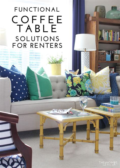 table solutions functional coffee table solutions for renters