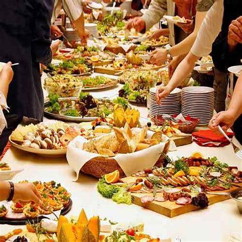 Tranquiil World: Wedding Food Palette