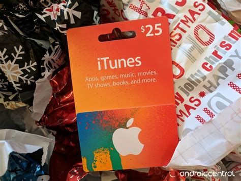 Can You Return Amazon Gift Cards - how to use an itunes gift card as an android user android central