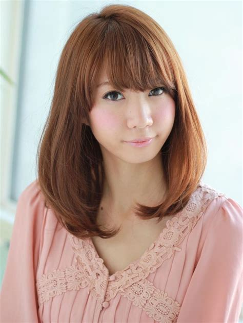 medium bob hairstyles japanese nice japanese medium hairstyle hair pinterest nice