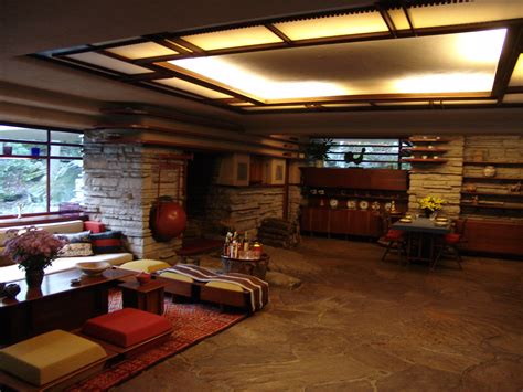 Falling Water Interior file frank lloyd wright fallingwater interior 5 jpg