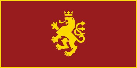 flags of the world lion macedonia golden lion flag v 2 by calkino on deviantart