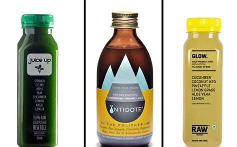 Detox Bottle India by Cold Press Juices Are The New Trend Wellness News