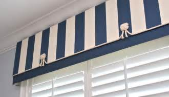 Nautical Valance Finishing Touches Beach Style Bedroom Denver By