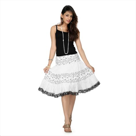 best skirt embroidered skirt top embroidered skirt top exporter