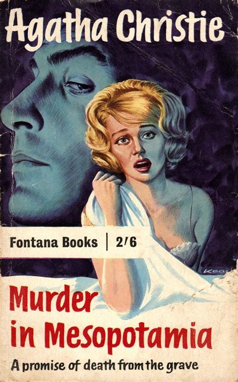 Novel Pembunuhan Di Mesopotamia Murder In Mesopotamia Agatha Christie vintage cover for murder in mesopotamia agatha christie