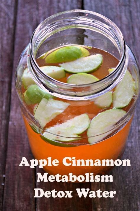 Jalapeno Detox Water by Apple Cinnamon Metabolism Water Recipe Apple Cinnamon