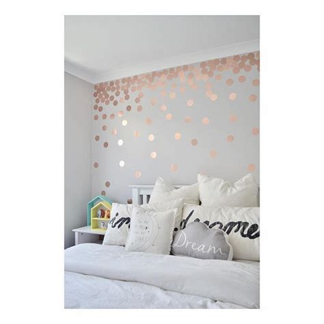 Bathroom Wall Stencil Ideas by Metallic Rose Gold Wall Paint Onyoustore Com