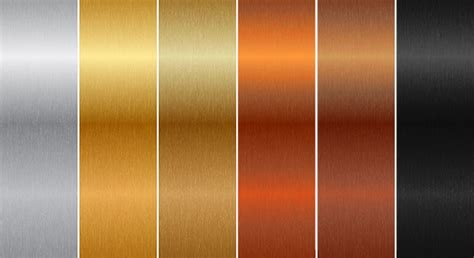 what color is aluminum anodised aluminium colours