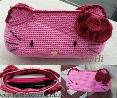 Bag Hello Rajut 1000 images about crochet pouch bag cozy cover on
