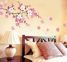 Flower Wall Stickers For Bedrooms image result for nerolac designer walls paints