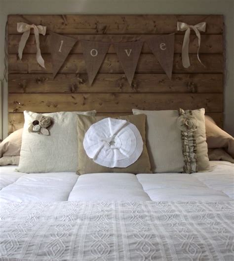 homemade wooden headboards 25 great diy headboard ideas